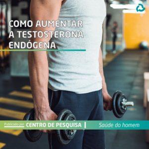 Como aumentar a testosterona endógena - homem levanta peso