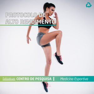 Protocolo de alto rendimento - mulher fazendo exercício