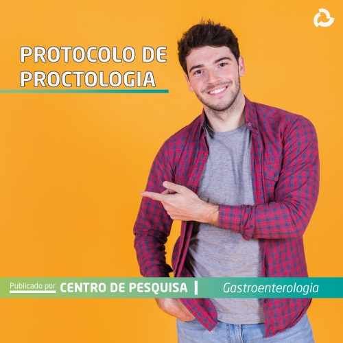 Protocolo de proctologia - Homem sorrindo