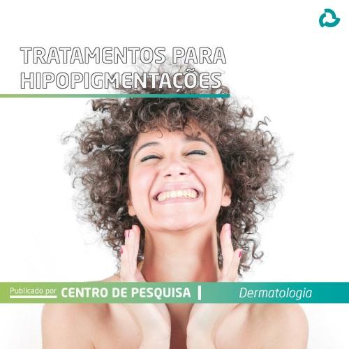 Tratamentos para hipopigmentações - mulher sorrindo