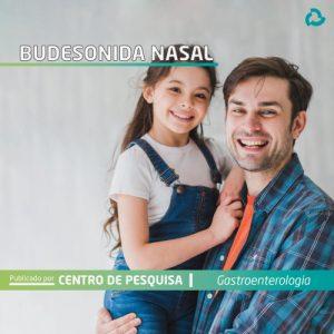 Budenosida nasal - Pai e filha sorrindo