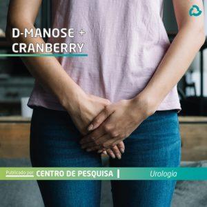 D-manose + Cranberry - mulher