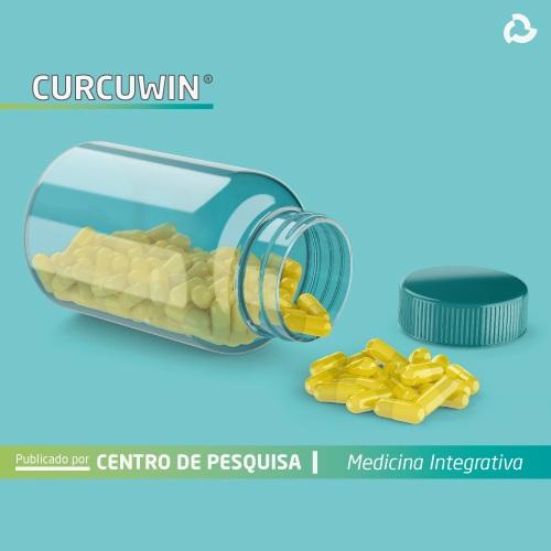Curcuwin - embalagem com pilulas amarelas