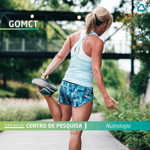 goMCT - Mulher aquecendo para correr