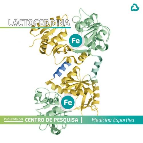 Lactoferrina - Cadeia de ferro