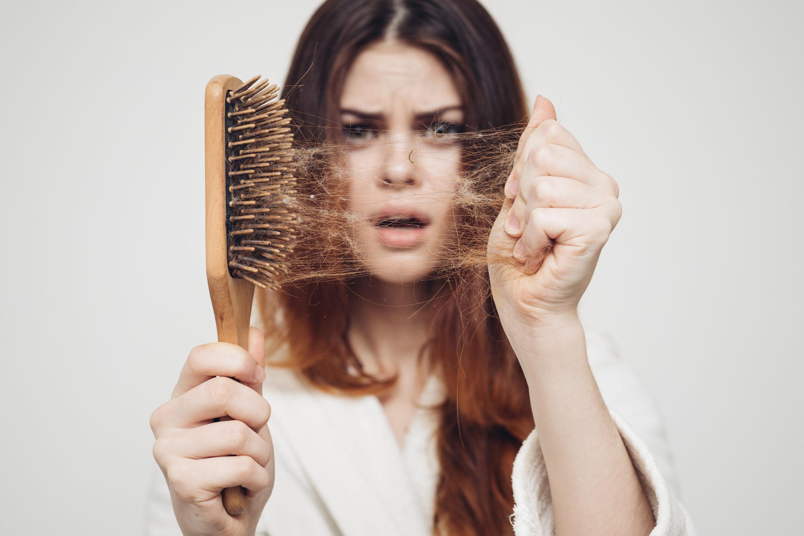 Queda de cabelo eflúvio