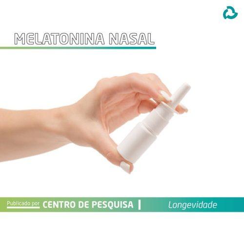 Melatonina nasal - Embalagem pump