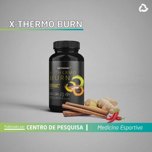 X-thermo burn - Embalagem