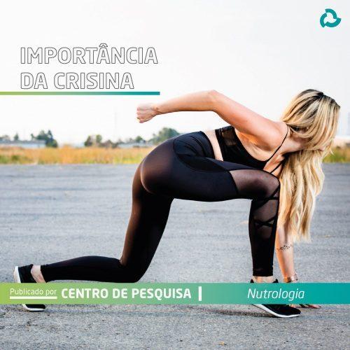 Importância da crisina - Mulher preparada para correr