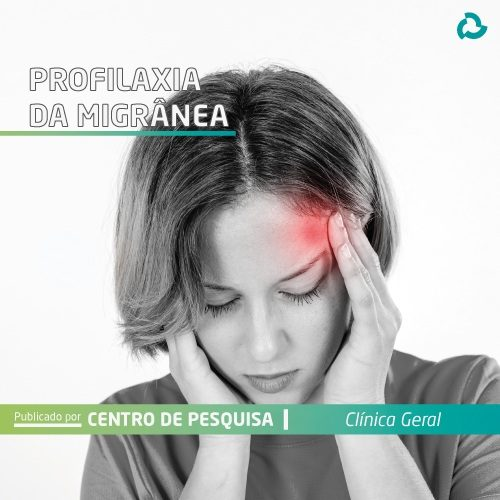 Profilaxia da migrânea - Mulher com dor de cabeça