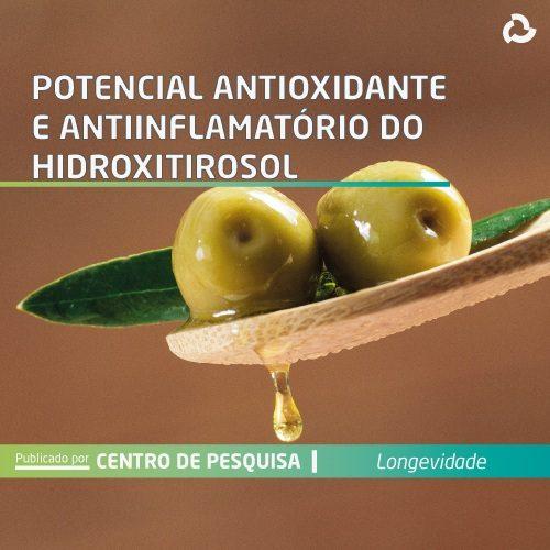 Potencial antioxidante e anti-inflamatório do hidroxitirosol