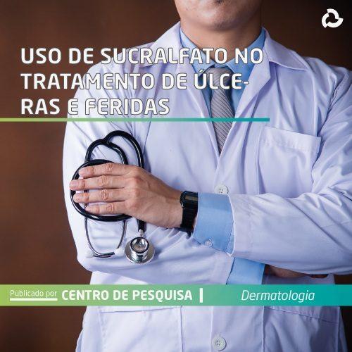 Uso de sucralfato no tratamento de úlceras e feridas