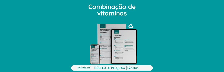 Combinação-de-vitaminas