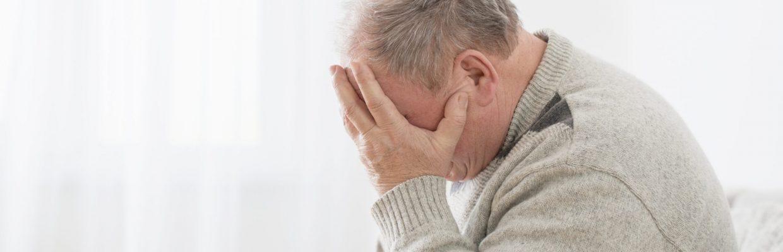 Elderly,Men,With,Headache,Indoor
